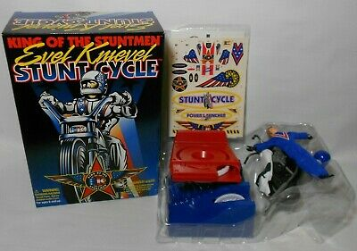 Vintage 1998 NIB New Evel Knievel Stunt Cycle VTG New in Box Never Played With