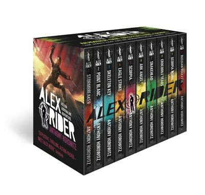 Anthony Horowitz Alex Rider 10 Books Box Set  Collection Pack