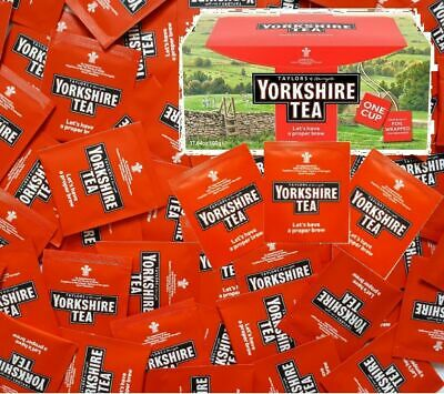 Yorkshire Enveloped Tea Bags Free UK Delivery