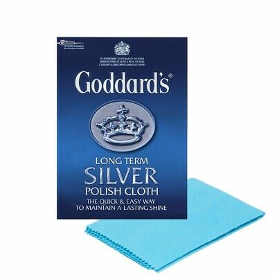 Goddard's SILVER POLISH cloth + long term shine - cotton - large size&value pack