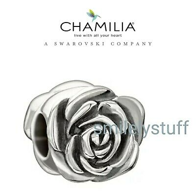 Garden Club February Authentic Chamilia Sterling Silver Charm Violet 2010-3218