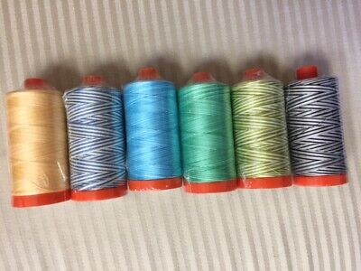 50 WT Marrakesh Variegated 1422 yds #3817 AURIFIL QUILT THREAD