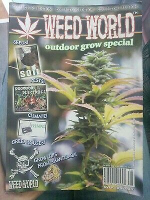 Weed World Collectors Edition Outdoor Grow Special