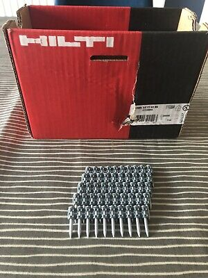 50 x Hilti 27mm Nails For GX100 / GX120 / GX3 (X-C 27 G3 MX)