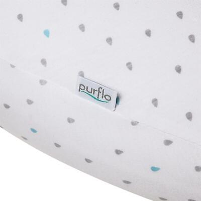 Purflo PURAIR FEEDING CUSHION COVER TEAR DROP Baby Feeding Accessory BNIP