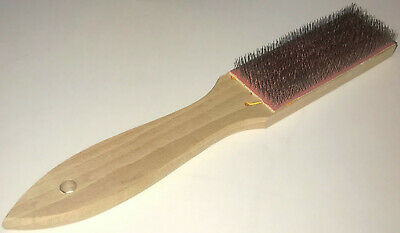 2 Piece FILE CARD Cleaners File Brush Clean Files Remove Chip Bits LUTZ #10 USA