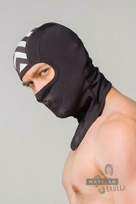 MASKULO Masks Mesh Skulla Fetish Balaclava Masque One Size WHITE AC071 13
