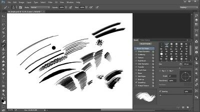 Creating Media Brushes in Photoshop. Video Tutorial