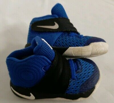 Nike Kyrie 2 Toddler Shoes Black-Blue Glow-Anthracite 827281-005