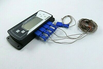 Omega OM-CP-QuadTemp2000 4 Channel Thermocouple Data Logger with LCD