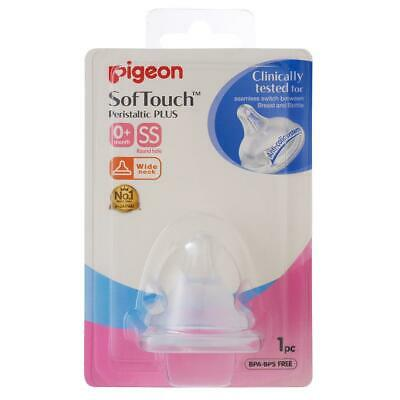 Pigeon Baby Softouch Plus Teat Ss - 1 Pack