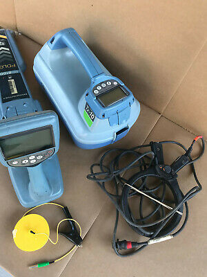 Radiodetection Spx Rd8100 Pdlg Bluetooth Tx-10 Pipe Cable Fault Locator