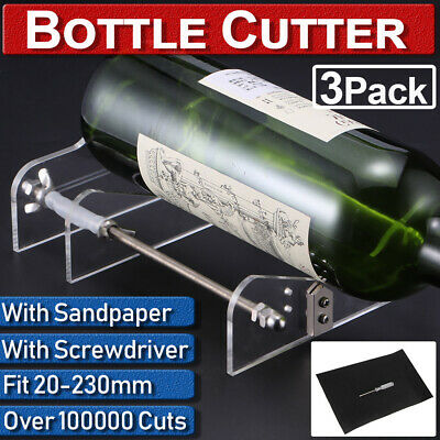 Adjustable Bottle Cutter Wine Glass Machine Jar Recycle DIY Craft Cutting Tool