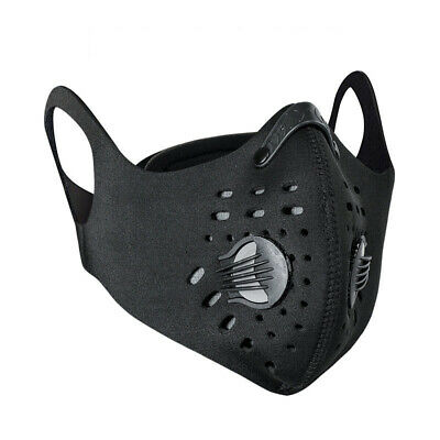 Activated Carbon Face Shield Anti-fog Dustproof Filter Sports Cycling Face Cover