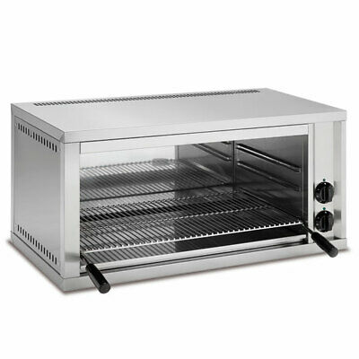 Baron Fixed Height Electric Salamander Grill With 600 X 350 Mm Cooking Surface