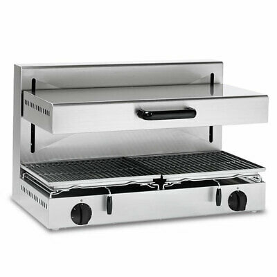 Baron Adjustable Height Electric Salamander Grill With 800 X 350 Mm Cooking