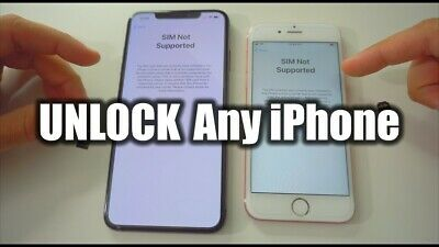 IPHONE All Carrier And All Country UNLOCK SERVICE