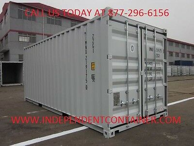 New 20' Shipping Container  Cargo Container  Storage Container in Long Beach, CA