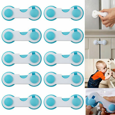 10PCS Child Safety Protective Equipment Refrigerator Lock Cabinet Lock