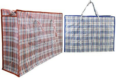 Reusable Extra Large Laundry Storage Bag Shopping Bags Zipped Strong Laundry Bag