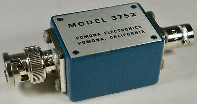 POMONA 3752 Shielded Box with Male BNC and Female BNC  Connectors