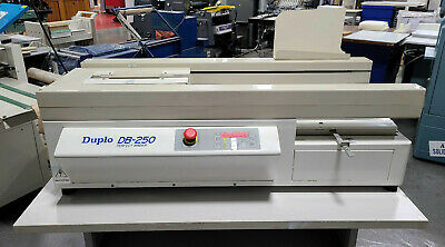DUPLO DB-250 PERFECT BINDER.  Clean! Ready for operation