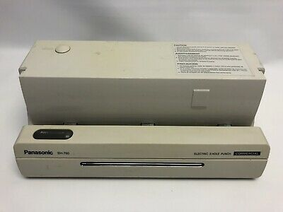 Panasonic Electric 3 Hole Punch Commerical BH-780