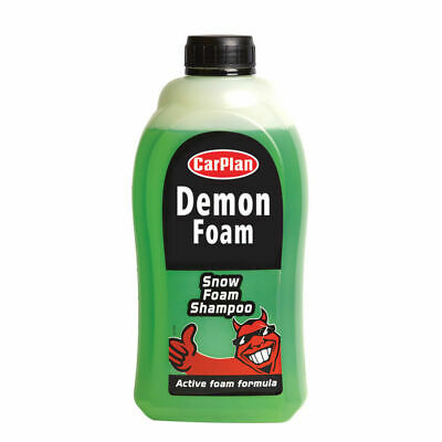 CarPlan Demon Wash Snow Foam Shampoo REFILL PACK 1 Litre
