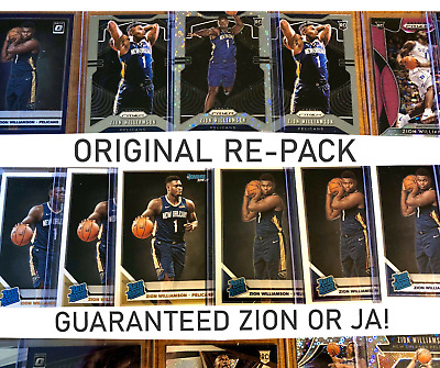 🔥 Zion or Ja in EVERY Pack! 🔥 Zion Williamson/Ja Morant Prizm *REPACK*