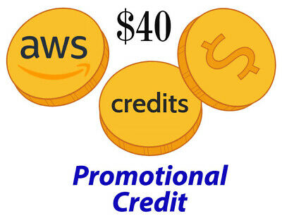 $40 AWS Promotional Credit Codes