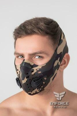 MASKULO Masks EnForce Neoprene Mask Quality Fabric Camo AC134 25