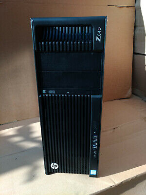 HP Z640 Workstation 20Cores/40T, 2x Xeon E5-2660V3, 128GB DDR4, Quadro GPU, SSD