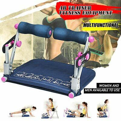 Ab Workout Machine Sit Up Fitness Health Exercise Equipment Weight Loss Home Gym Abdominal Exercisers
