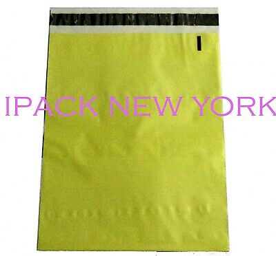 100 Light Yellow 10x13 Poly Mailers Shipping Envelope  Shipping Bags