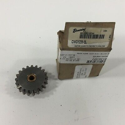 "Browning CWG1220-2L Worm Gear 5/16"" Bore"