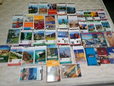 41 Travel Guide Books lot , Top 10, Spartacus, Gay Travel, Europe, ASIA, USA