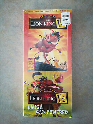 The Lion King ​1 1⁄2 (Disney, 2004) — Longbox DVD — New + Sealed