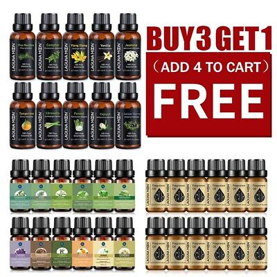 10/30ML Essential Oil 100% Pure & Natural Aromatherapy Diffuser Fragrance Aroma