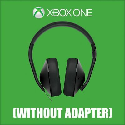 Microsoft Official Xbox One Wired Stereo Black Headset