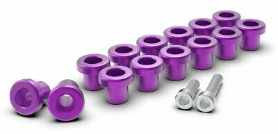 Superforma SR20DET VVT Rocker Cover Bolt and Washer Kit - Purple