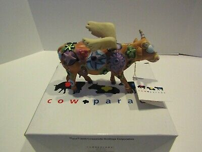 Westland Collectible Cow Cowparade Angeli Cow Moo Moo Cow Parade Figurine
