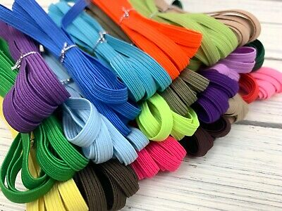 10 yards 6mm Elastic Band 1/4 inch Width Braided Flat for DIY Mask USA SELLER