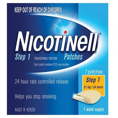 Nicotinell Step 2 - 14Mg / 24 Hours 1 Week Supply Helps Quit Smoking