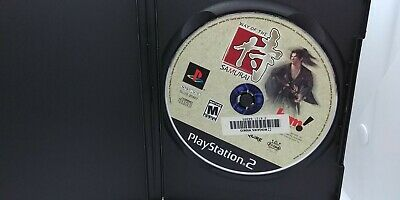 Way of the Samurai, PS2, Disc Only