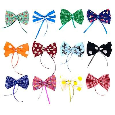 Dog Grooming Collar Ribbon Bows 50 Pack (S+M+L)