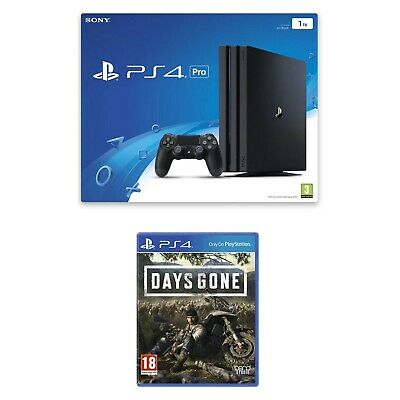 PS4 Pro Bundle with Days Gone 1TB - Sony PlayStation 4