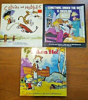 Lot of 3 Calvin and Hobbes Comic books
