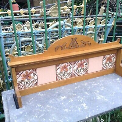 Antique Marbel Topped Washstand .
