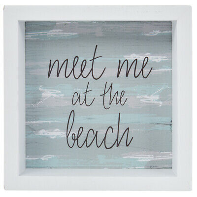 Meet Me At The Beach Wood Wall Decor WALL ART. Bring the Beach to your Place