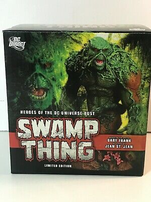 Swamp Thing Bust by DC Direct.Limited Edition Heroes of The DC Universe Series 2